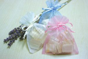 アロマハンドトリートメント と 香りのサシェ(香り袋)作り体験