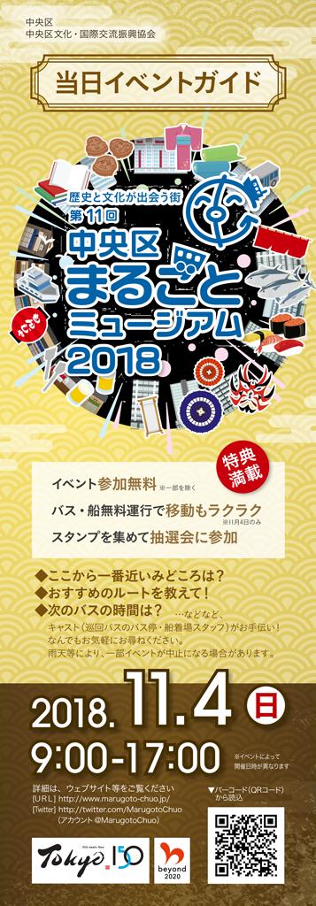 まるごとミュージアム2018当日イベントガイド ダウンロード