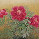銀座 柳画廊:福永明子「深紅」日本画