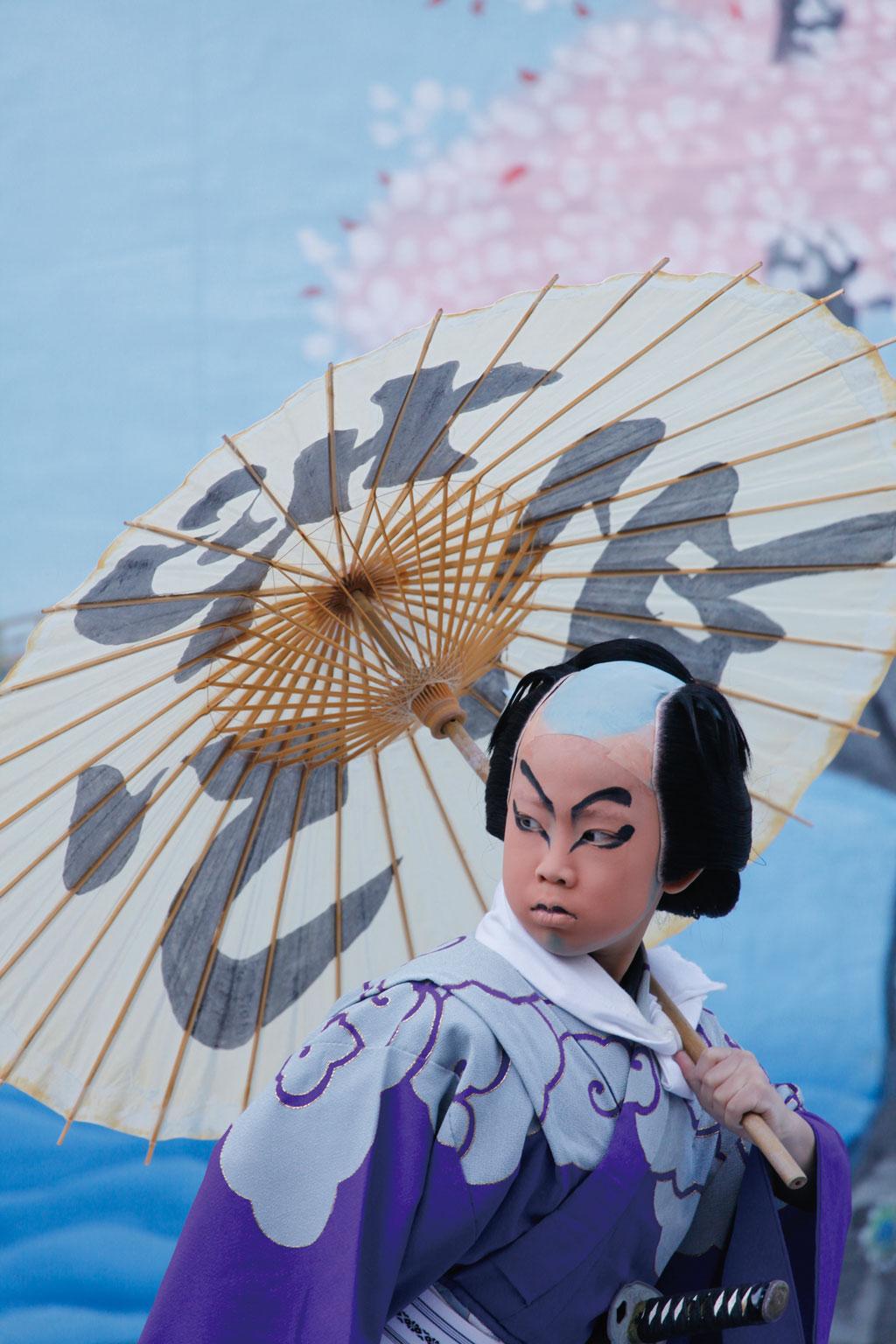 第7 回『新富座こども歌舞伎』 泰明小学校公演