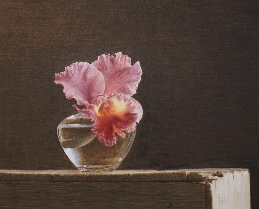 ギャラリー林:三浦明範「10月の朝」水彩