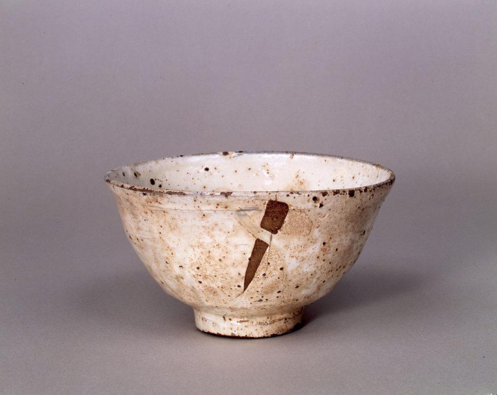 重要文化財 粉引茶碗 三好粉引 16世紀 三井記念美術館蔵